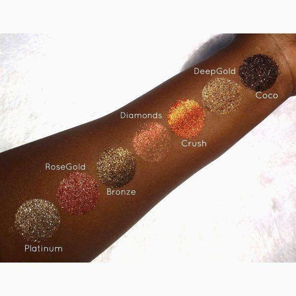 ShopSisi Pressed Glitter Singles - Coco